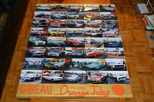 40 OLD CAR PHOTOS AT ORANGE JULEP / VOITURES ANCIENNES