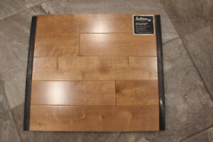 One lot of Hardwood floor Birch Natural color Ardoise (see pic)