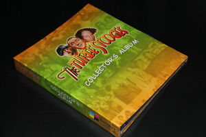 THE THREE STOOGES-COLLECTION-ALBUM+CARDS (NEUF/NEW)