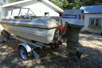 Good Project Boat ,Motor & trailer for sale