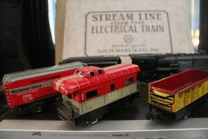 VERY MINT EARLY 50S MARX VINTAGE STEAM TRAIN SET Peterborough Peterborough Area image 3