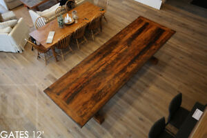 Reclaimed Wood Tables - Locally Sourced, Built & Finished