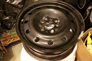 Set of 4 - 16' Steel rims for sale - 5x115 bolt pattern