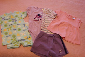 Infant girl clothes 6mos, 6-12mos & 9 mos