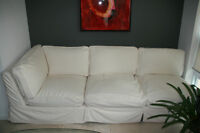 Feather Filled Sofa Sectional