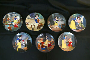 Snow White and The Seven Dwarfs - Collector Plates