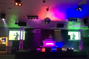 Sound and Lighting Equipment for Hall or Night Club for Sale