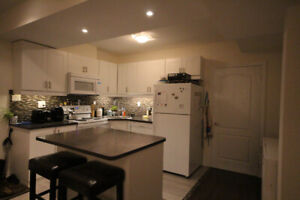 ONE BEDROOM BASEMENT APARTMENT FOR RENT IN AJAX