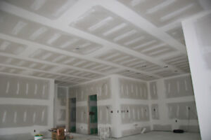 Professional Drywall Installation, Taping, Repairs & Plastering