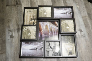 Multi-Photo Wall Mount Collage Frame