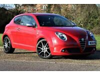 2014 Alfa Romeo MiTo 1.6 JTDM Sportiva 3dr Hatchback Diesel Manual
