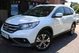 2015 Honda CR-V 1.6 I-DTEC SR WHITE FHSH SAT NAV REV CAMERA FINANCE AVAILABLE