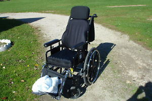 NEW,VIP, high quality tilt back air cushion wheelchair Windsor Region Ontario image 6