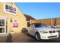 2012 BMW 1 SERIES 120D EXCLUSIVE EDITION CONVERTIBLE DIESEL