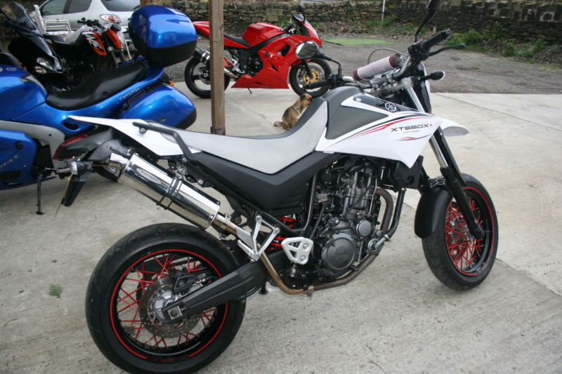 yamaha xt 660 x motard in yeadon west yorkshire gumtree. Black Bedroom Furniture Sets. Home Design Ideas