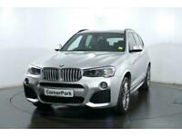 2017 17 BMW X3 3.0 XDRIVE30D M SPORT 5D 255 BHP DIESEL