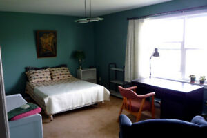 Available April 1st: Exclusive extra-large furnished second fl.
