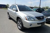 2007 Lexus RX 400 hybrid SUV DVD AND NAVI  NO GST