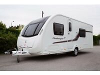 CARAVAN SWIFT CHALLENGER 580 SE 2014 PRIVATE SALE IMMACULATE CONDITION