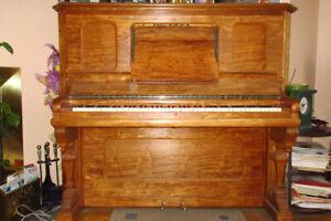 Beautiful Restored Upright Antique Piano
