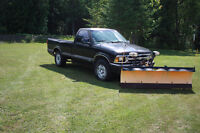 1994 Chevrolet S-10 Pickup Truck with Plow - YARD TRUCK