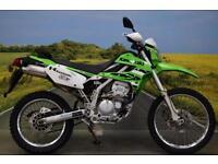 Kawasaki KLZ 250 2009**7000 MILES, DIGITAL DISPLAY, WAVY DISCS, RENTHAL BARS**