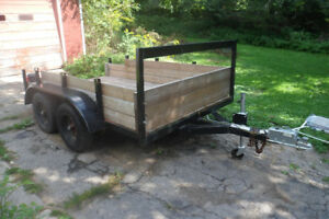 trade my 6x12 dual axle trailer