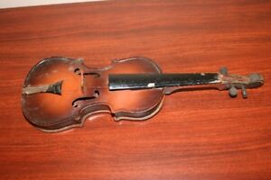 Old/Antique Toy Violin - Made in Czechoslovakia - 1930