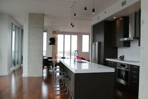 Penthouse,1,chambre,bedroom,Vieux Montreal,Griffintown,Downtown