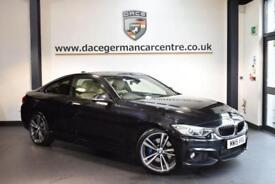 2015 15 BMW 4 SERIES 2.0 420D M SPORT 2DR AUTO 188 BHP DIESEL