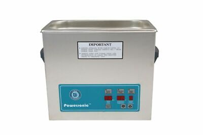 Crest Powersonic Ultrasonic Cleaner 1.5 G Digital Heat Pc P500htpc-45 115v