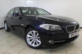 2011 11 BMW 5 SERIES 2.0 520D SE 4DR AUTOMATIC 181 BHP DIESEL