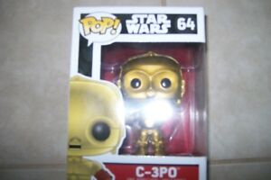 Star Wars, Avengers, Marvel Collectable Pop Figures