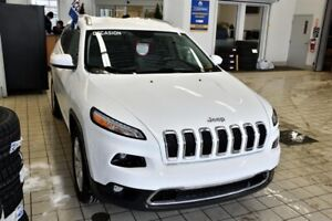 Jeep Cherokee LIMITED 4WD V6 HITCH CUIR CAMERA DE RECUL 2015