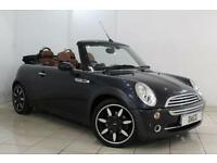 2008 08 MINI CONVERTIBLE 1.6 COOPER SIDEWALK 2DR 114 BHP