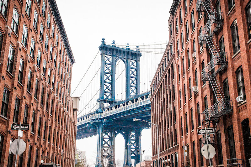 "Am Ende der Brooklyn Bridge wartet das ""etwas andere New York"". (Bild: Thinkstock via The Digitale)"