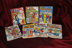7 ARCHIE ~ BETTY and VERONICA ~ DOUBLE DIGESTS