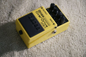 Boss bass overdrive pedal ODB-3