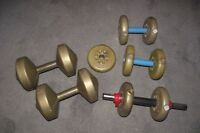 DUMBBELLS & BARBELL WEIGHTS