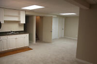 1100 Sq ft - 2 bedroom basement suite - millwoods