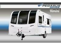 Bailey Pegasus Grande Rimini, 2019, New/Display Model, Touring Caravan