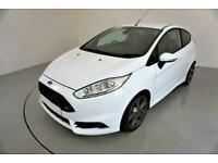 2015 WHITE FORD FIESTA 1.6 ECOBOOST 180 ST3 3DR HATCH CAR FINANCE FR £209 PCM