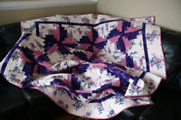 Homemade Quilt - 2 sided - Brand New, Never Used