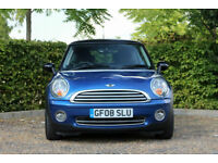 2008 Mini Mini 1.6 ( 120bhp ) ( Pepper ) Cooper,BLUE,LOW MILEAGE 38,000 MILES
