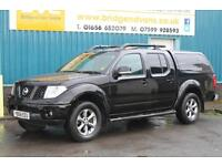 2009 NISSAN NAVARA 2.5 DCI 169 BHP PLATINUM 4X4 DOUBLECAB DIESEL MANUAL PICK UP,