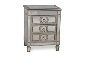 ELEGANT MIRRORED NIGHT TABLES FOR $390 only