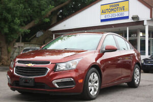 2015 Chevrolet Cruze 2LT**rearview camera**ONE OWNER***FINANCING