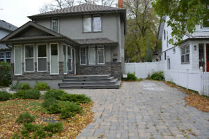 Beautiful 3 bedroom character home in River Heights for Aug 1st!