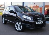 2010 NISSAN QASHQAI 1.5 dCi Acenta 17andquot; ALLOYS, CRUISE and BLUETOOTH