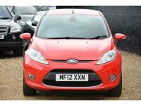 2012 Ford Fiesta 1.4 TITANIUM TDCI 5D 69 BHP + FREE NATIONWIDE DELIVERY + FREE 3